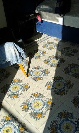 Hotel Regina Cristina : Room floor