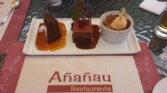 Ananau Restaurante : Trilogia buenisima