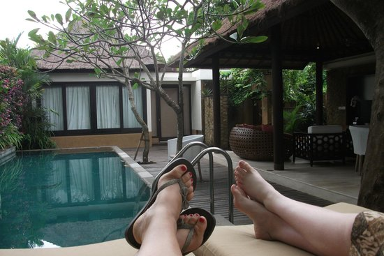 View Of Pool And Second Brm From Main Villa Picture Of Amarterra Villas Bali Nusa Dua Mgallery Tripadvisor