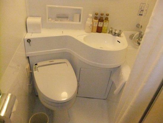 Shinagawa Prince Hotel Tokyo : バスルームは広くないです