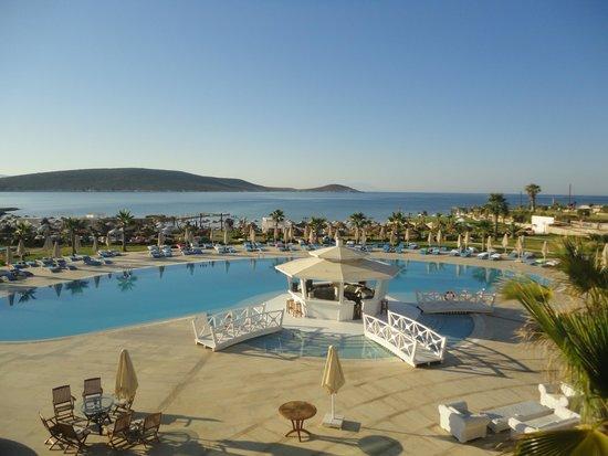 Premier Solto Hotel: Blick auf den Poolbereich
