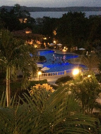 Occidental Grand Papagayo by Barcelo: pool at tnight