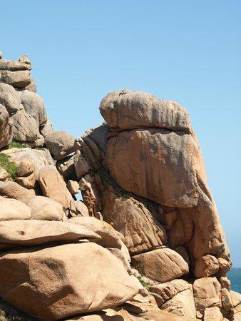 Sentier des douaniers : Rocks