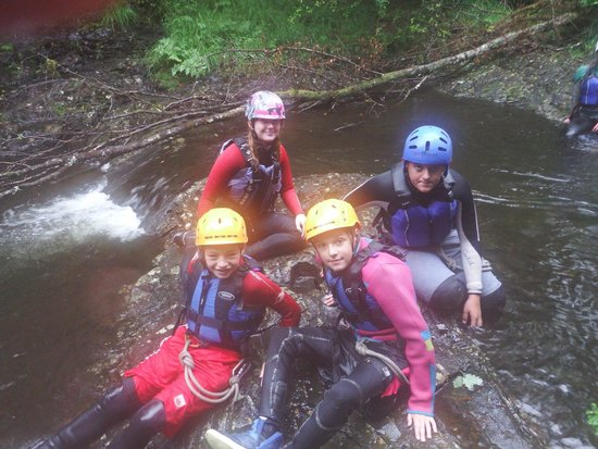 Snowdonia Adventure Activities: Saturday 30th august 2014  Canyoning at Maentwrog, excellent afternoon!