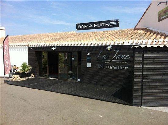 "Bar a huitre Jane : LE BAR A HUITRES""LA JANE"""