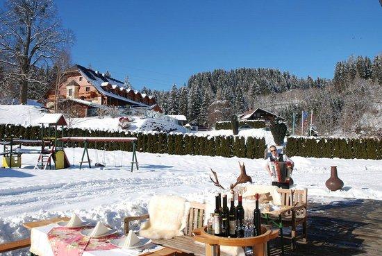 Hotel Vitaler Landauerhof: Außen Winter