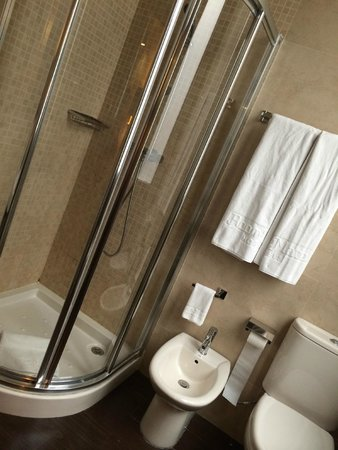 Room Mate Leo: Baño: ducha