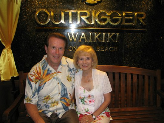 Outrigger Waikiki Beach Resort : On our eleventh night!