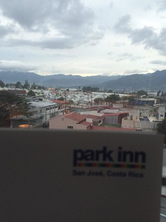 Park Inn by Radisson San Jose: Вид из 505 номера:))