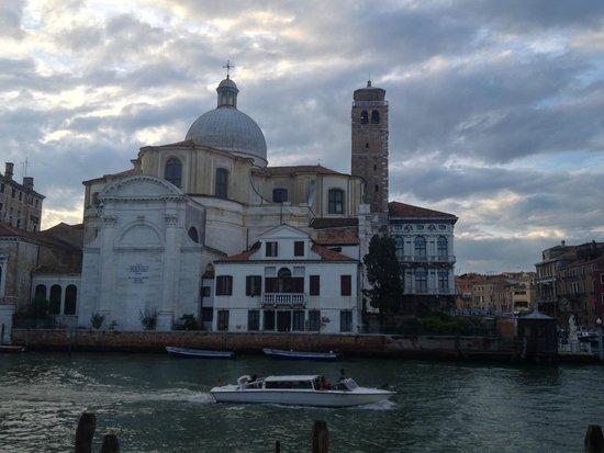 L'Imbarcadero: View of Chiesa di San Geremia from front room