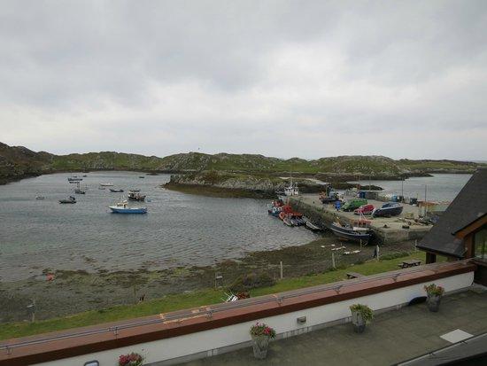 Inishbofin House Hotel & Marine Spa : Sea View