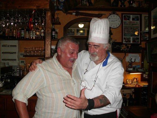 La Botte: foto ricordo con lo chef