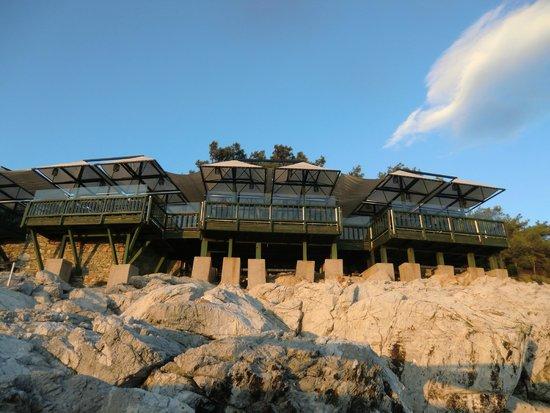 Club Med Bodrum Palmiye : Restaurant am Strand - unbedingt ausprobieren!