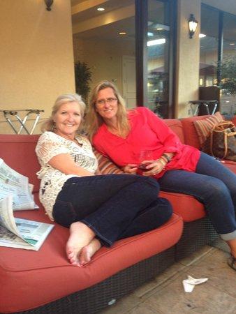Napa Valley Marriott Hotel & Spa: friends