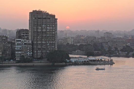Fairmont Cairo, Nile City: Stunning sunsets