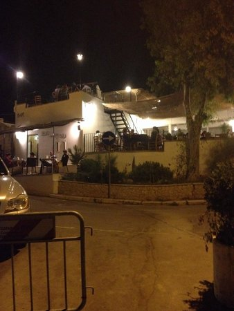 Bar del Moro: Vista del ristorante dalla strada