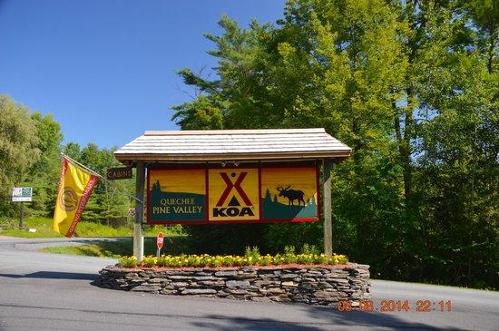Quechee / Pine Valley KOA : KOA Quechee Pine Valley White River Junction Vt.