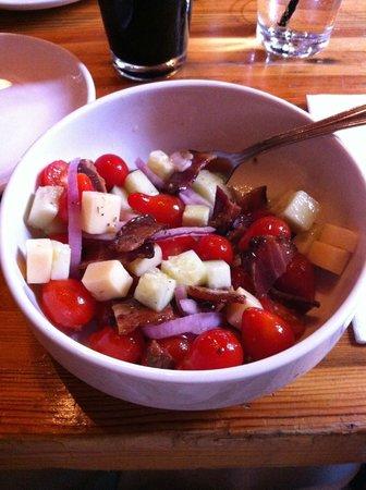 Slows Bar BQ: Yummy Heirloom Tomato Salad Special