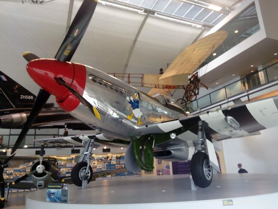 The Royal Air Force Museum London : il mitico Mustang della Air Force USA