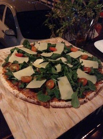 Barocco: pizza de Arugula