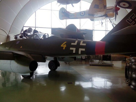 The Royal Air Force Museum London: il famigerato nemico il Messerschmidt a reazione