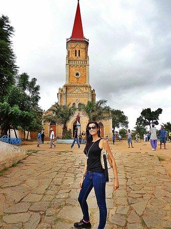 Ambohimanga: Igreja antes da Colina
