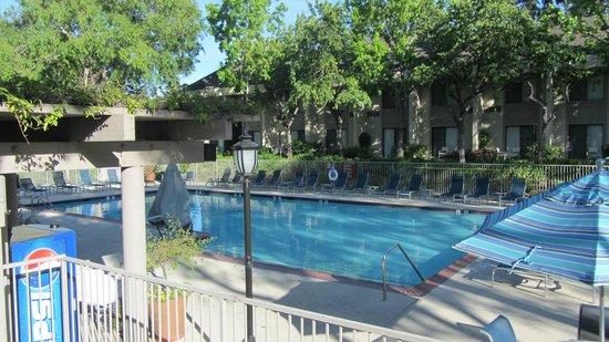 Sheraton Sunnyvale: Pool in the centre of hotel area