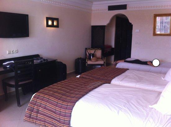 Zalagh Kasbah Hotel and Spa : La chambre
