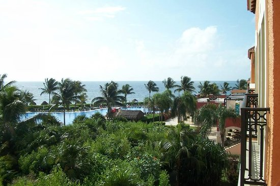 Ocean Coral & Turquesa: View from Junior Suite 14401.