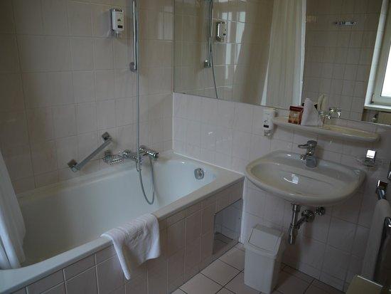 Hotel City Central: ванная