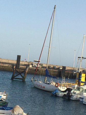 Alex Sailing: The 'Alex' in the harbour - easily found