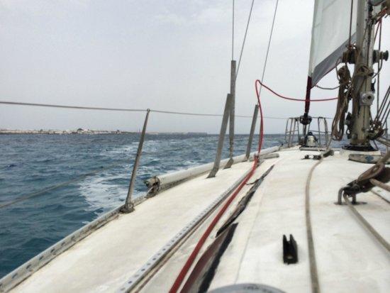 Alex Sailing: Sailing in from Playa Blanca, Lanzarote