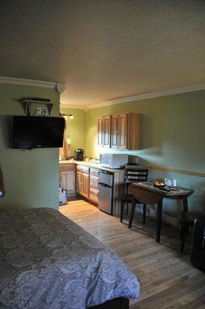 Parkside Inn: chambre