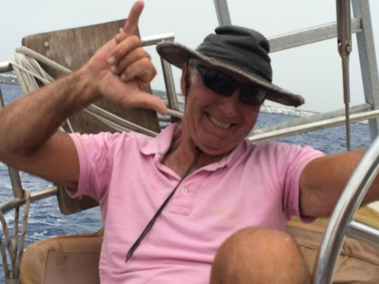 Alex Sailing: Our Skipper for the afternoon