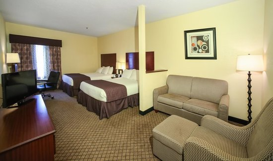 Dawson Village Inn: Queen Double Bed
