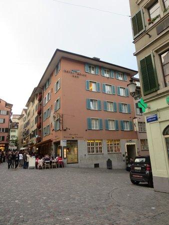 Hotel Adler: The outside of the hotel