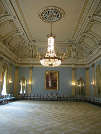One of the rooms at Rideau Hall