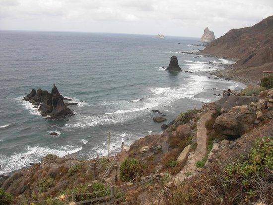 Playa de Benijo: Vista spettacolare