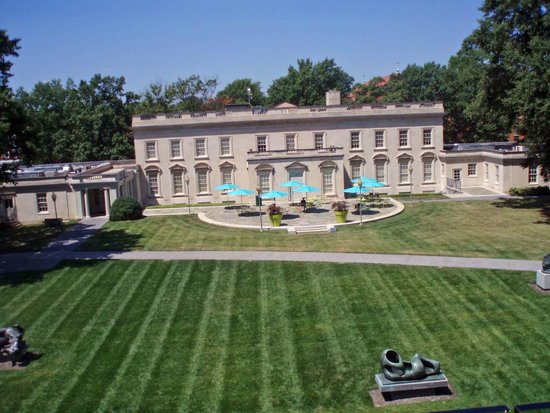 Virginia Museum of Fine Arts: View from balcony of Amuse Restaurant