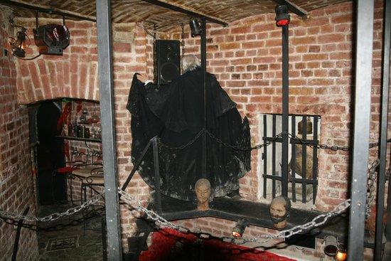 Count Dracula Club : Dracula moving through the Chapel