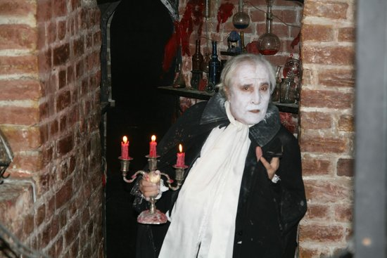 Count Dracula Club : So you really want to have dinner?