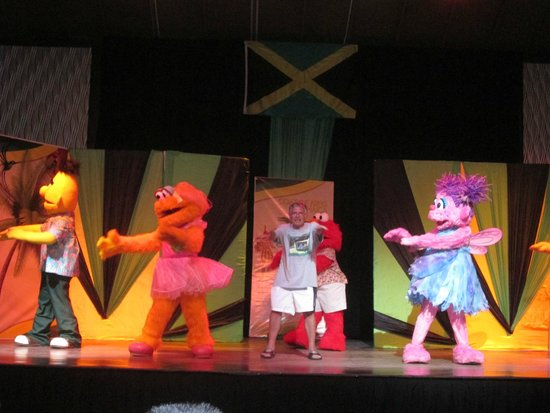Beaches Negril Resort & Spa: Sesame Street show on stage