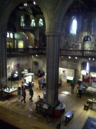 Norwich Castle : From the gallery