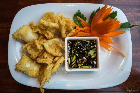 Koh Thai Tapas: Spicy Fried Squid