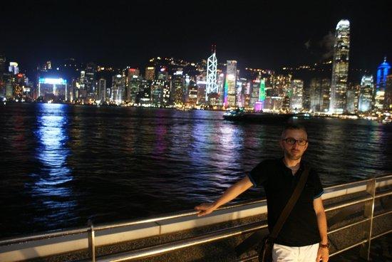 Royal Plaza Hotel: La vue sur Hong Kong est vraiment magique la nuit