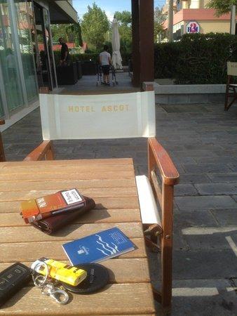 Hotel Ascot: esterni