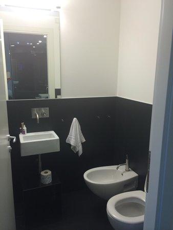 Le Nove Hotel: Interno bagno