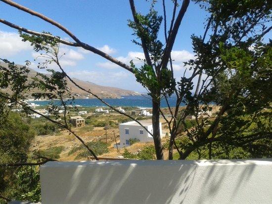 Nicolas Hotel Apartments: θέα από Πισίνα