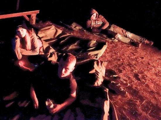 Kroombit Park: Sleeping under the stars