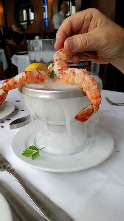 Ocean Prime - Tampa : HUGE Shrimp!!